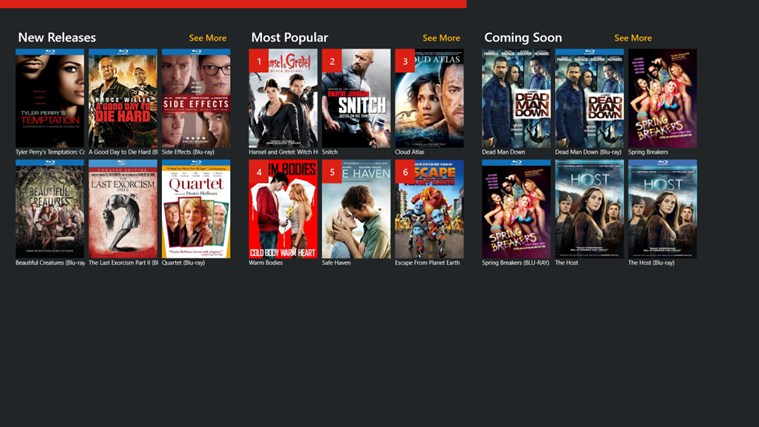 Redbox Rentals screen shot 0