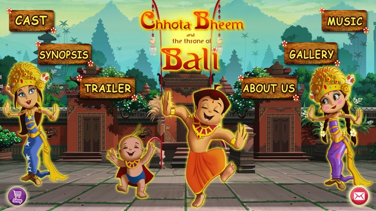 Chhota Bheem and The Throne of Bali screen shot 0