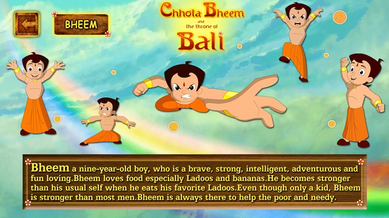 Chhota Bheem and The Throne of Bali screen shot 2