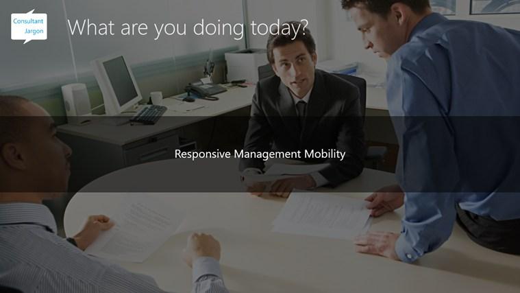 Consultant Jargon screen shot 2