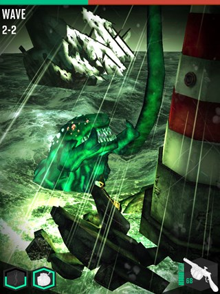 Shoggoth Rising screen shot 8
