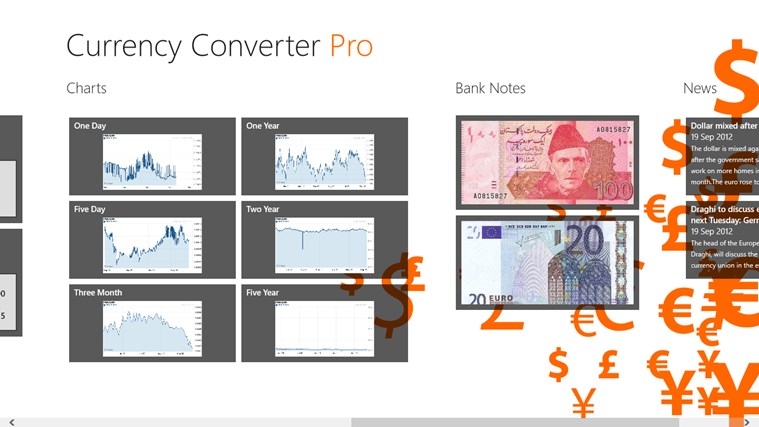 Currency Converter Pro צילום מסך 2