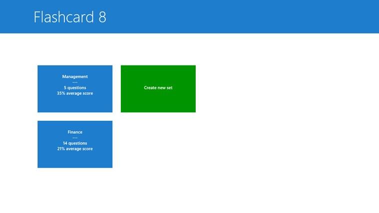 Flashcard 8 screen shot 0