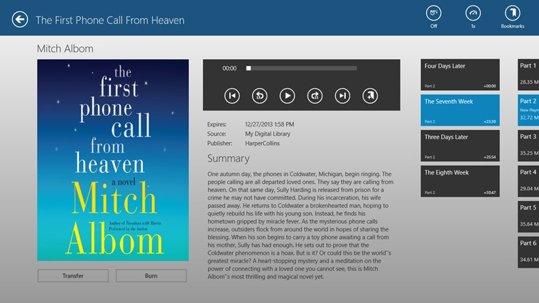 OverDrive - Library eBooks & Audiobooks screen shot 4