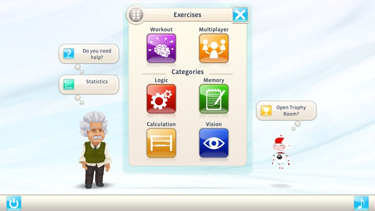 Einstein™ Brain Trainer HD screen shot 0