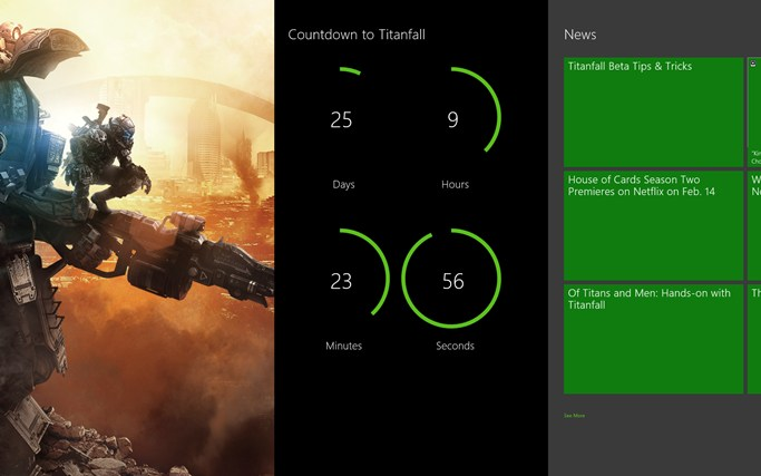 Microsoft Store's Xbox One Countdown screen shot 0