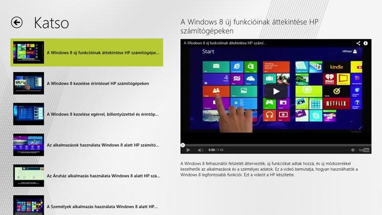 Windows 8 -aloitusopas näyttökuva 2