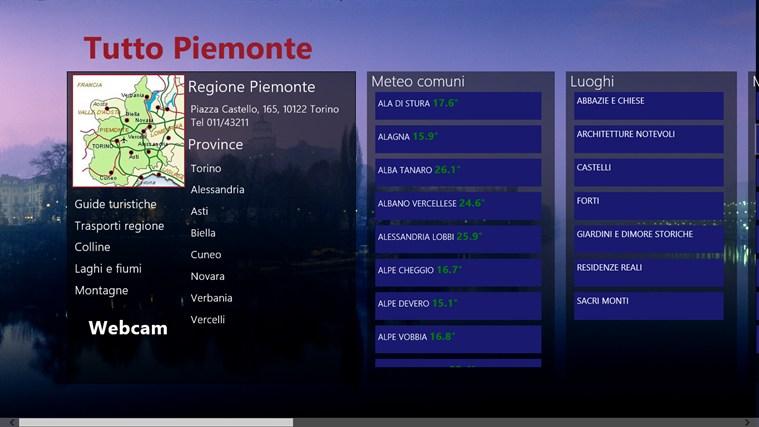 Tutto Piemonte cattura di schermata 0