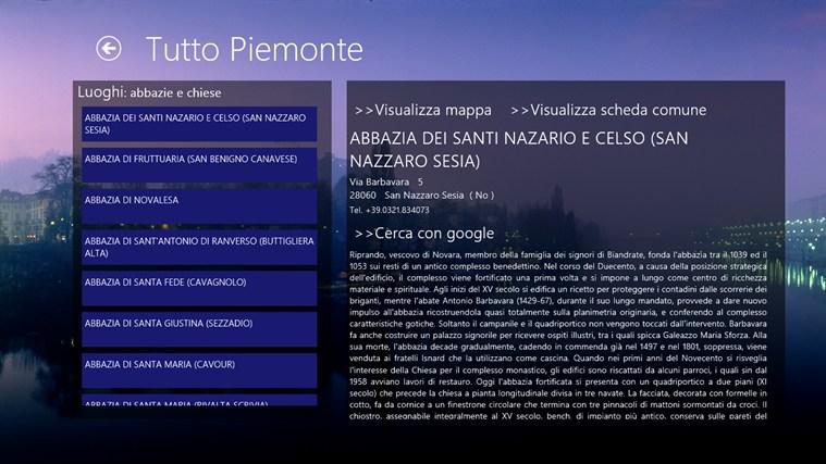 Tutto Piemonte cattura di schermata 2