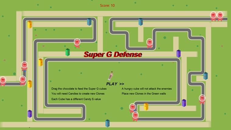 Super G Defense screen shot 0