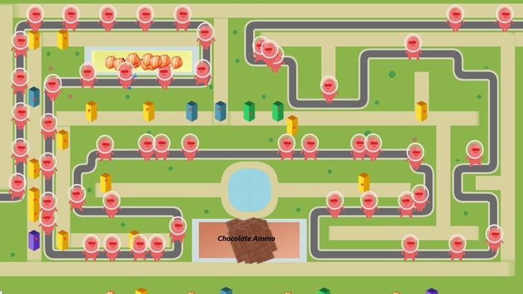 Super G Defense screen shot 4