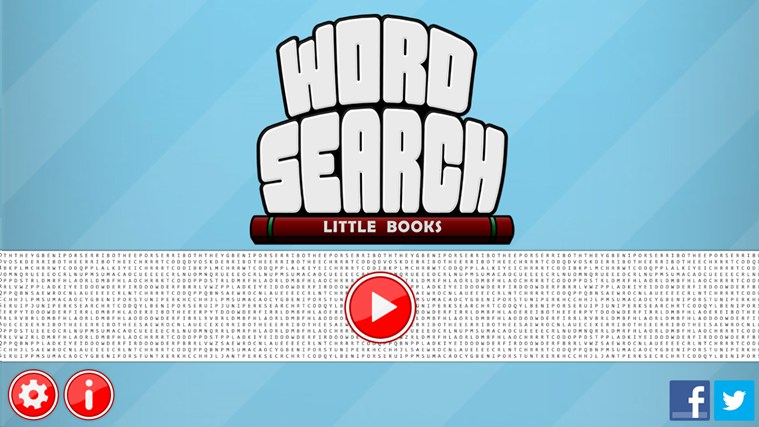 Word Search - Little Books screen shot 0