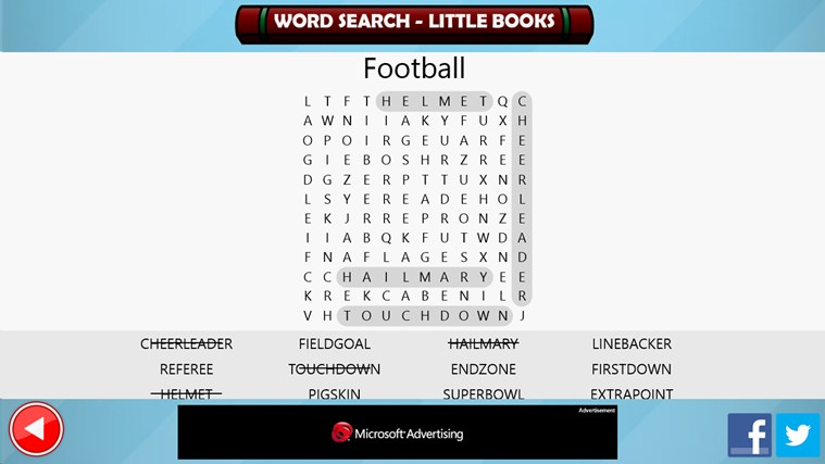 Word Search - Little Books screen shot 4