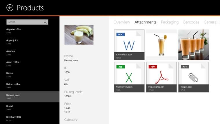 Visicom SFA screen shot 2