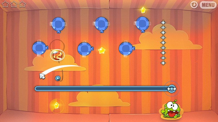 Cut The Rope skjermbilde 0