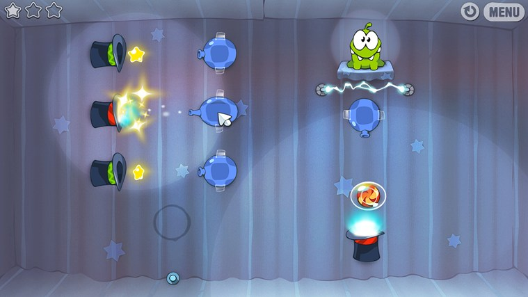 Cut The Rope captura de tela 2