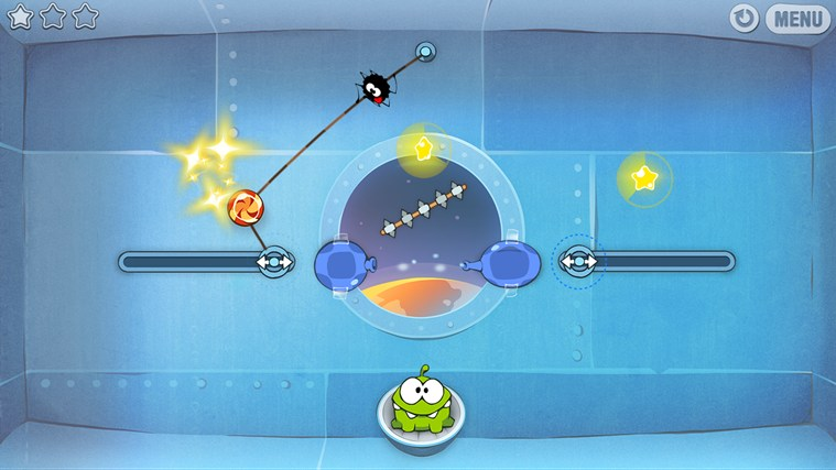 Cut The Rope captura de pantalla 4