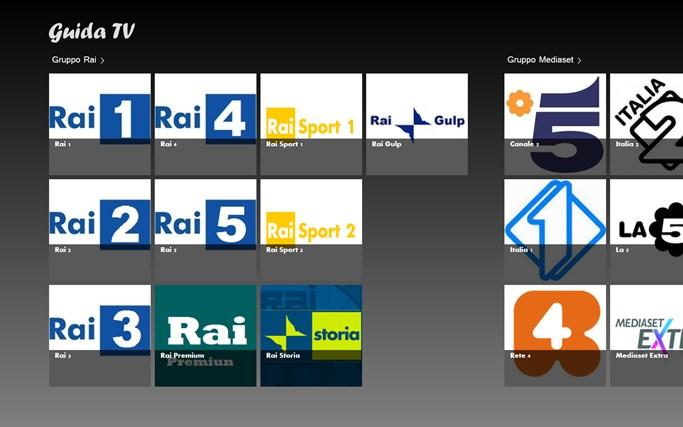 Guida Televisiva cattura di schermata 0