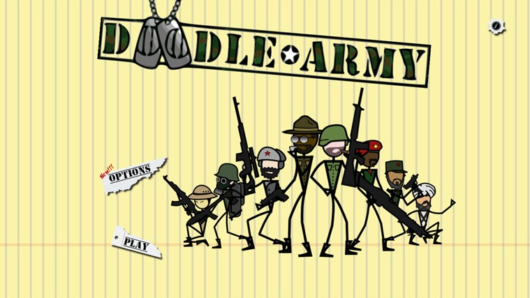Doodle Army screen shot 0