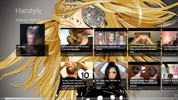 Hairstyle App screen shot 0
