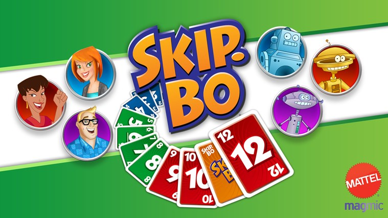 Skip-Bo™ screen shot 0