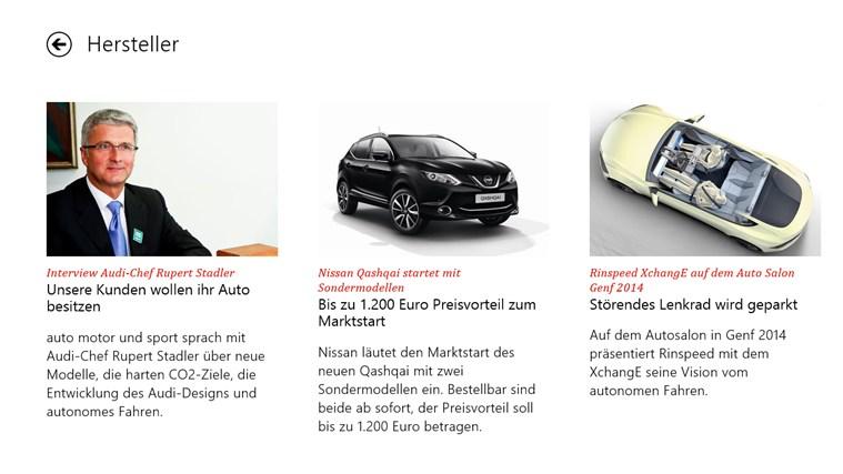 auto motor und sport Screenshot 2