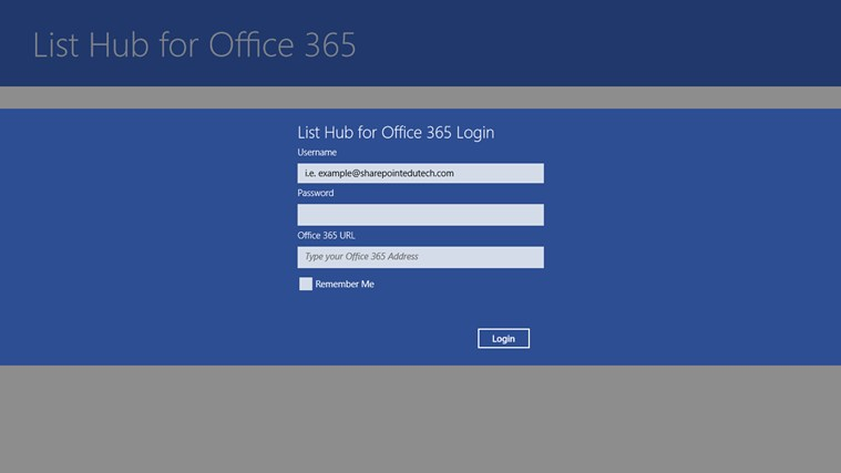 List Hub for Office 365 screen shot 0
