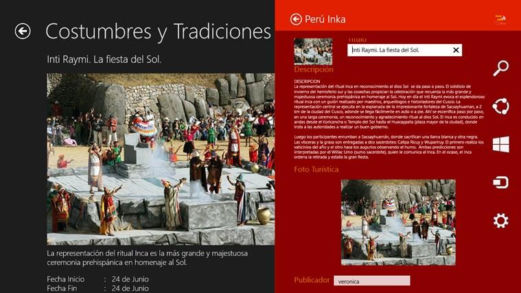Perú Inka captura de pantalla 6