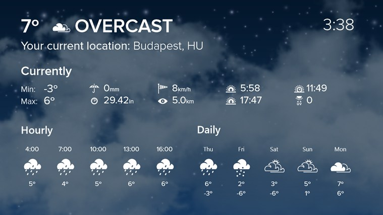 WeatherFlow screen shot 0