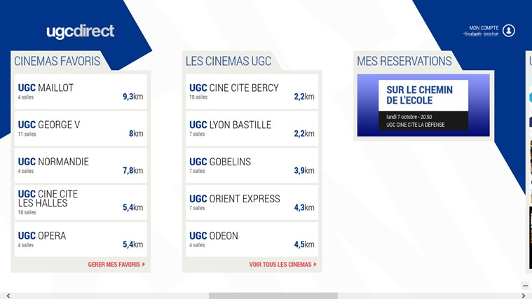 UGC direct capture d'écran 6