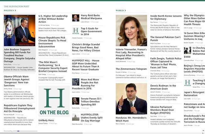 The Huffington Post screen shot 0
