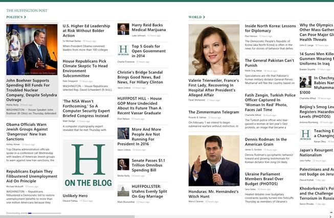 The Huffington Post screen shot 0
