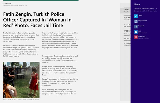 The Huffington Post screen shot 2