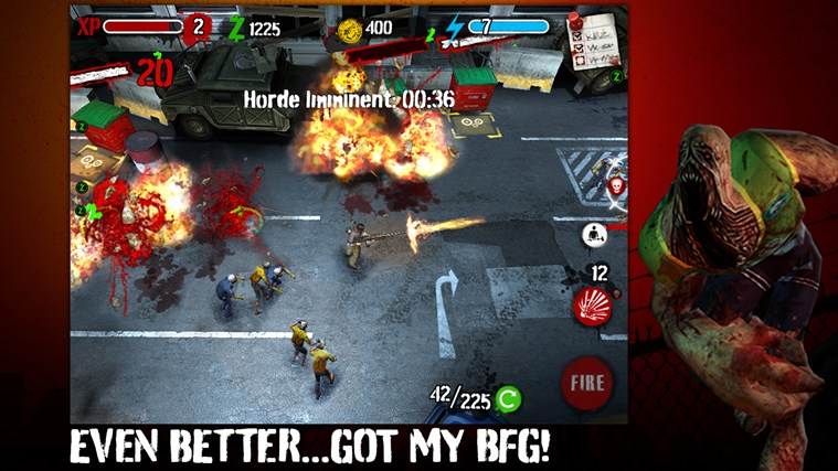 Zombie HQ screen shot 2