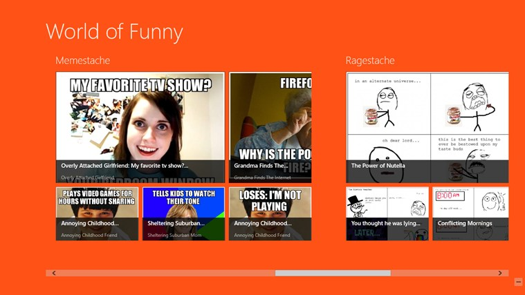World of Funny screen shot 0
