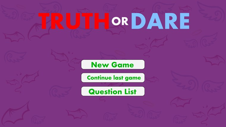 Truth or Dare? screen shot 0