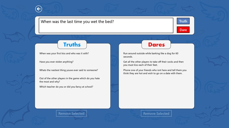 Truth or Dare? screen shot 2