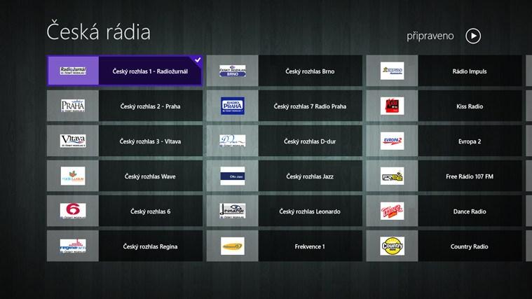 Česká rádia snímek obrazovky 0