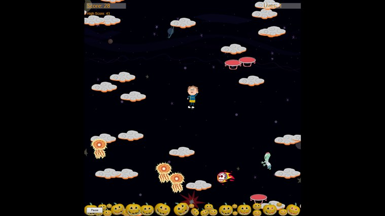 Super G Pumpkin Escape screen shot 4