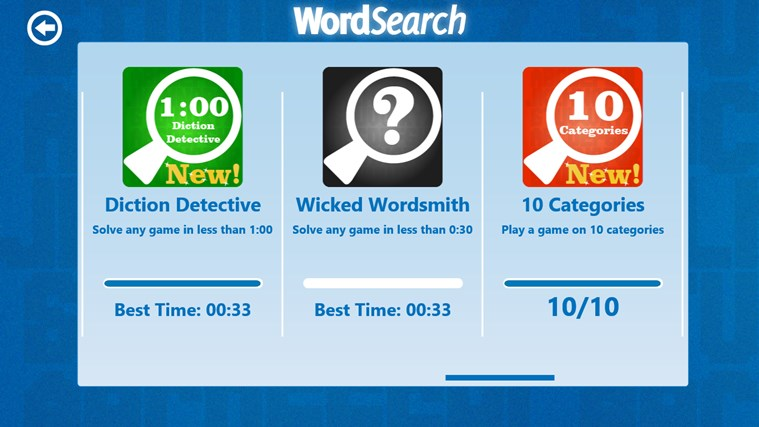 Word Search screen shot 6