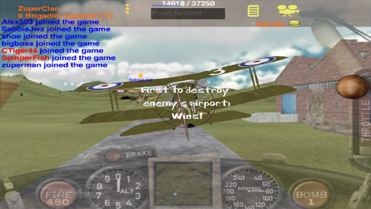 Dogfight screen shot 4