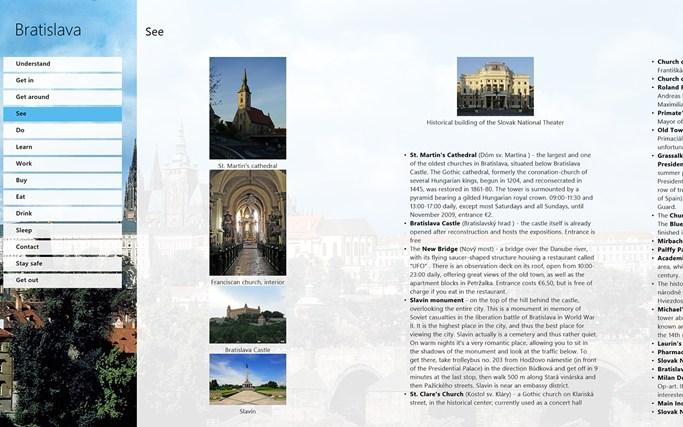 WikiTravel: Bratislava screen shot 0