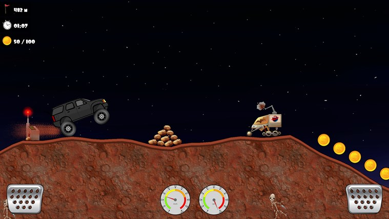 Offroad Racing screen shot 2