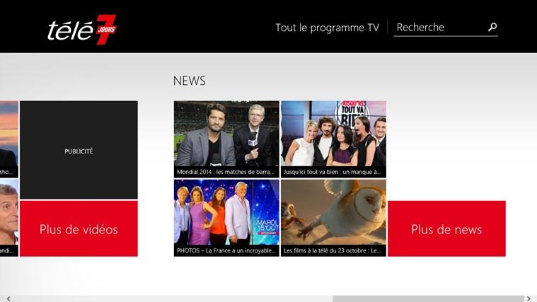 Télé 7 Programme TV capture d'écran 2