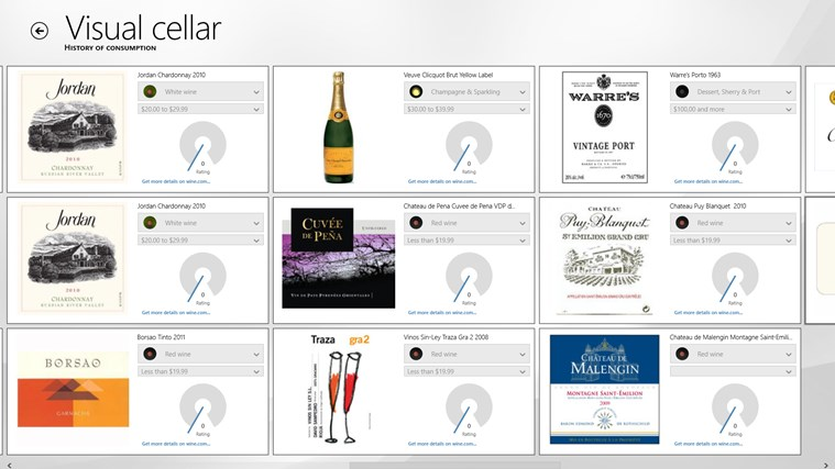 VisualCellar screen shot 4