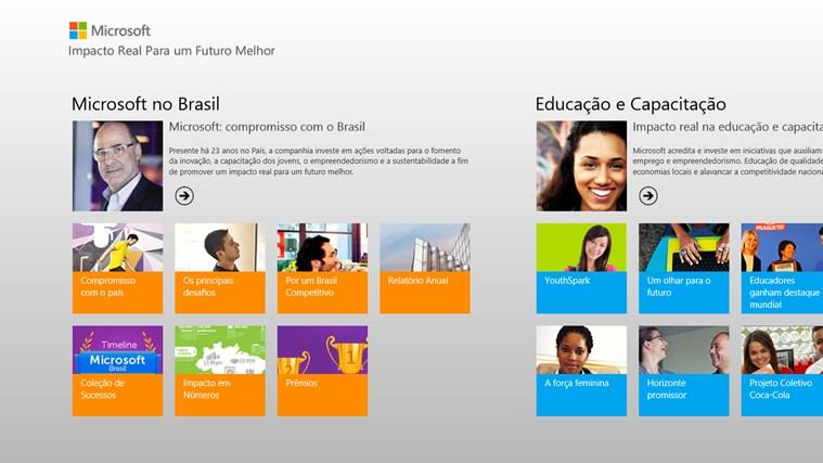 Impacto no Brasil captura de tela 0