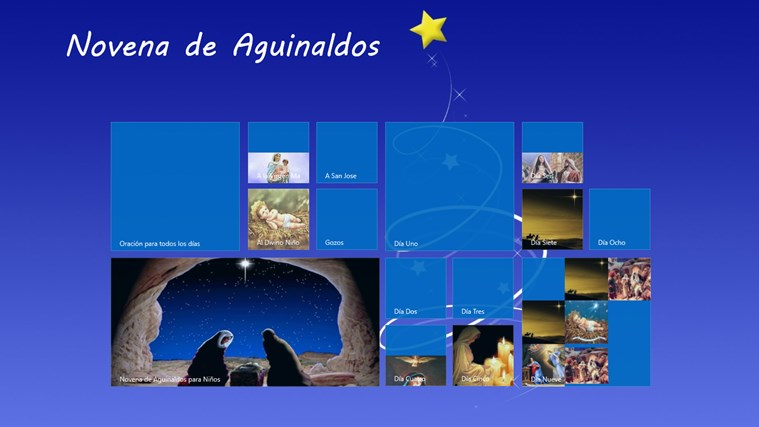 Novena de Aguinaldos screen shot 0