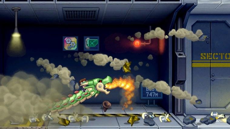 Jetpack Joyride captura de pantalla 2