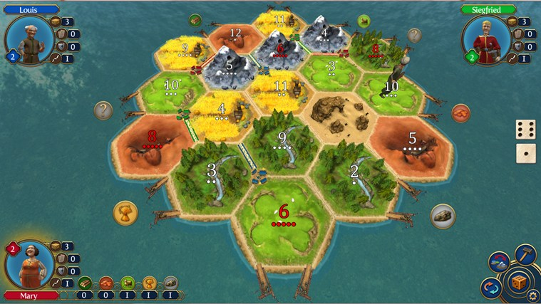 Catan screen shot 0