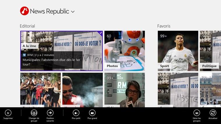 News Republic capture d'écran 0